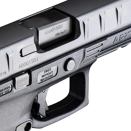 Beretta APX 9mm Handgun - JAXF921