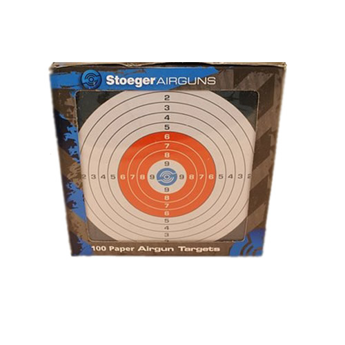100 Stoeger Airgun Paper Targets - 30354
